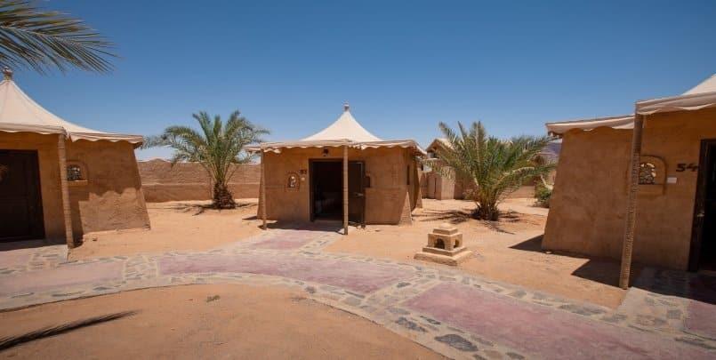 Bedouin Campsite in Wadi Rum