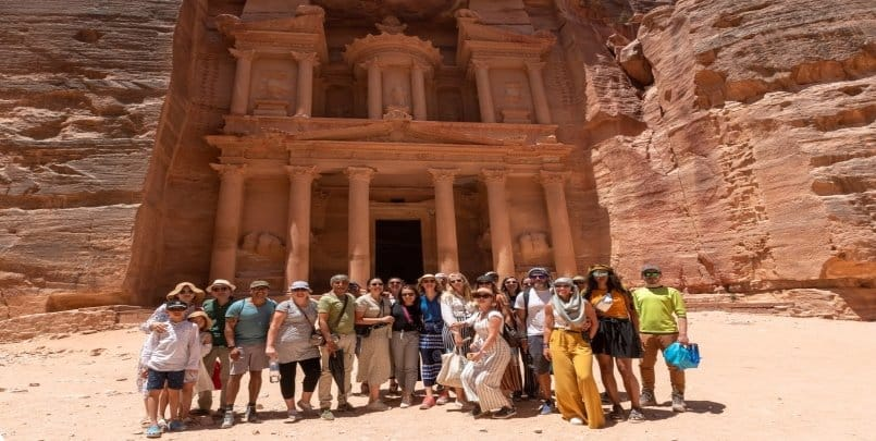group trips to petra