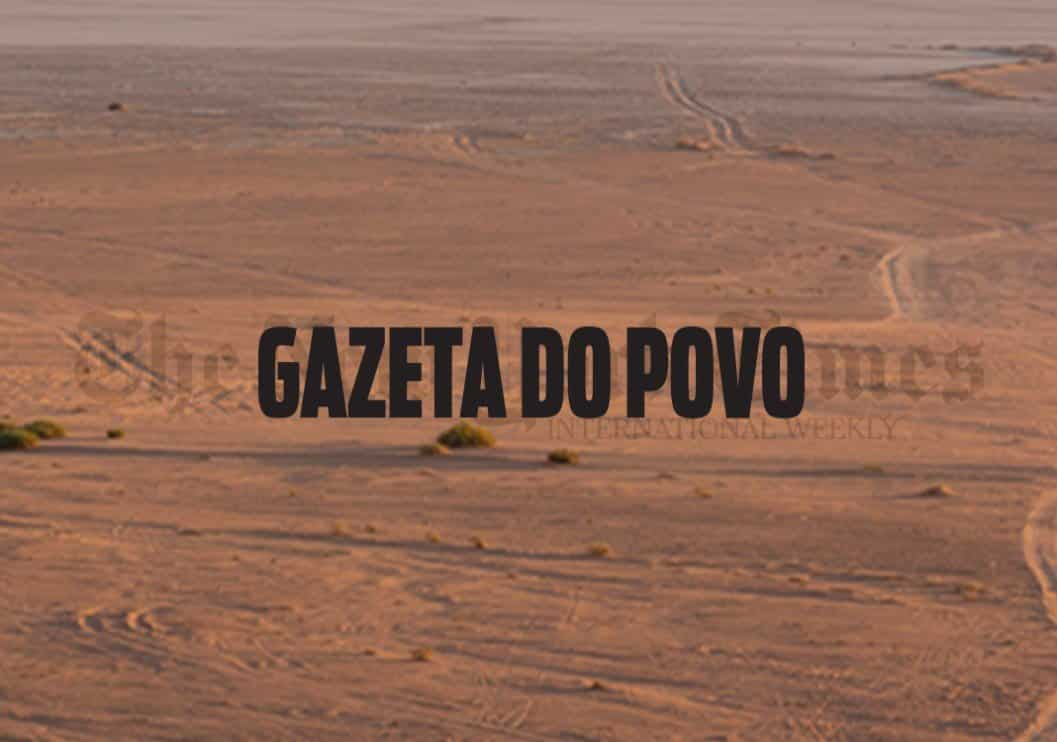 Gazeta de Pova (leading Brazilian newspaper). January, 2016